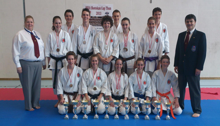 Karate SKC-Turnier in Thun